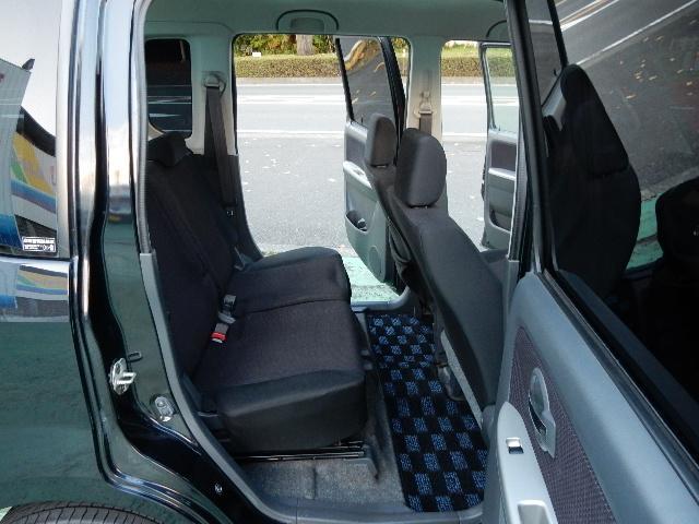 後部座席も使えます!