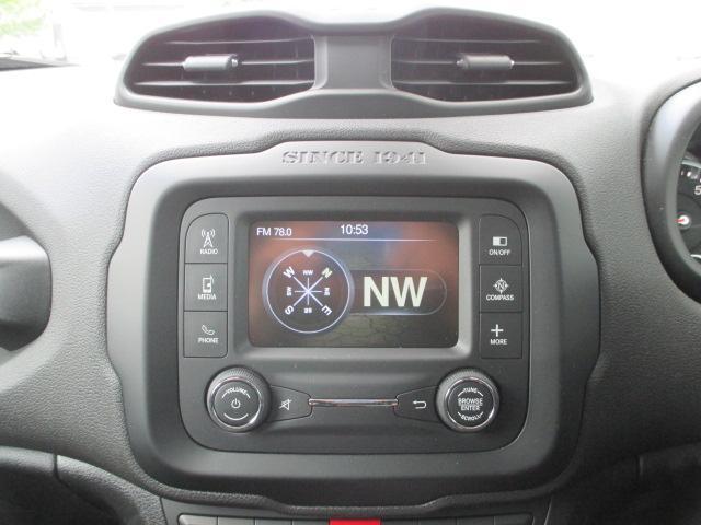 「Uconnect(ユーコネクト)」全車標準装備です。