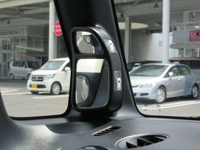 運転席から見づらい所も広く映すので、ラクにピタリと駐車ができます(*^-^*)