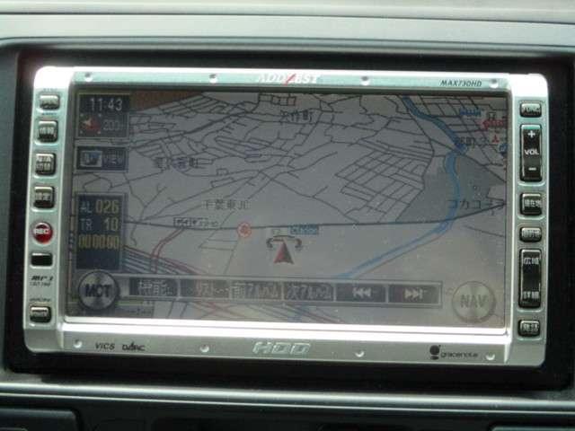 お仕事にもプライベートにも活躍してくれるHDDナビゲーション搭載車両♪♪行き先はナビにお任せ♪♪♪