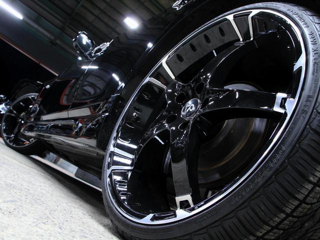 日産 フーガ 250GT黒ハーフレザーHDDマルチ Newフルエアロ