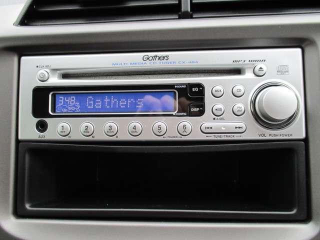 純正CDオーディオ装備!