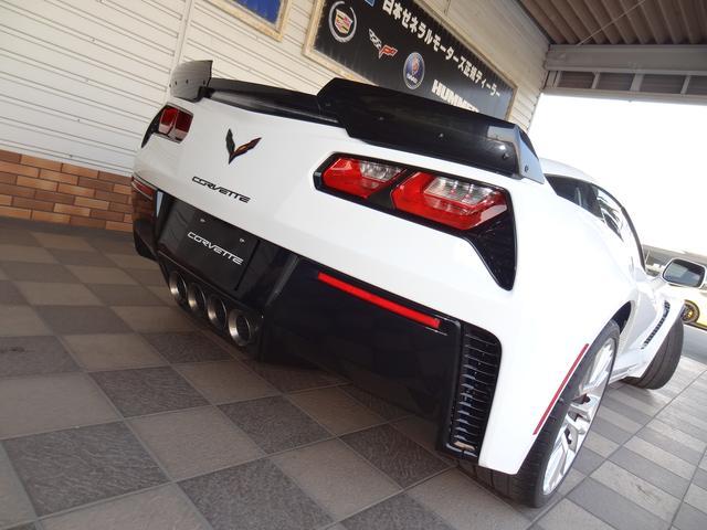 シボレー シボレー コルベット Z06 2016年モデル正規ディーラー車 ナビTV標準