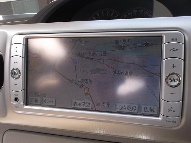 トヨタ ポルテ 130i CパッケージメモリーナビETCキーレスアルミ