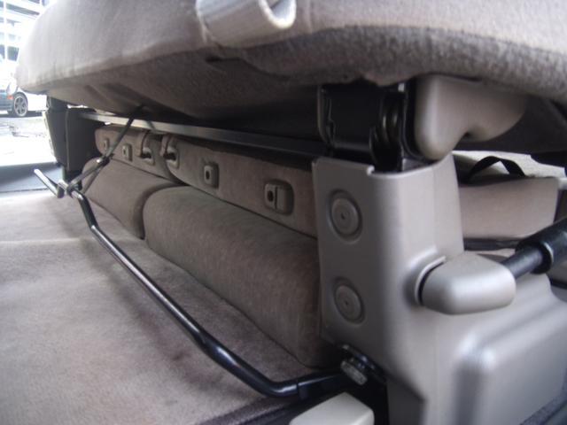 サードシートはセカンドシート下です