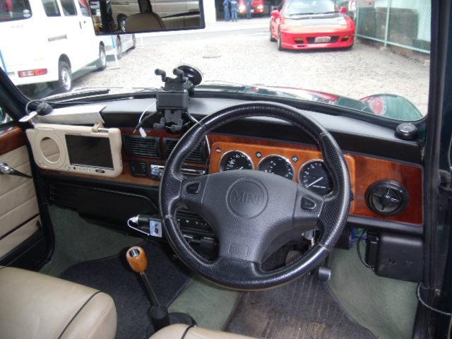 ローバー ローバー MINI ケンジントンMT改変済右ハンドルクーラーD車