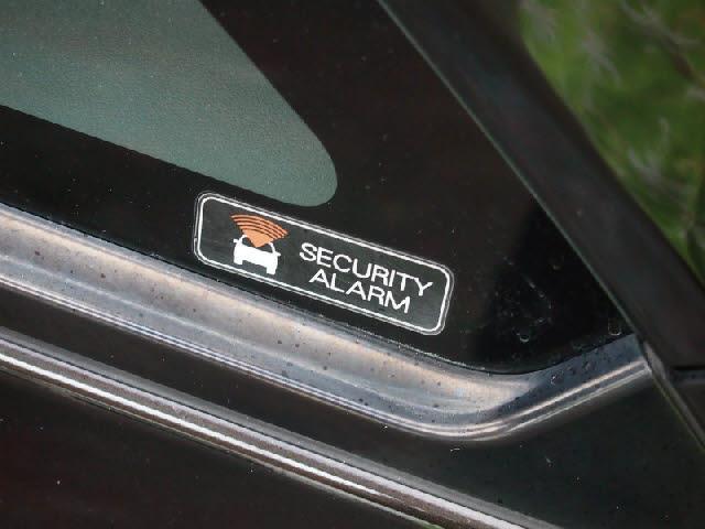 盗難防止に役立つ、セキュリティアラームシステム。