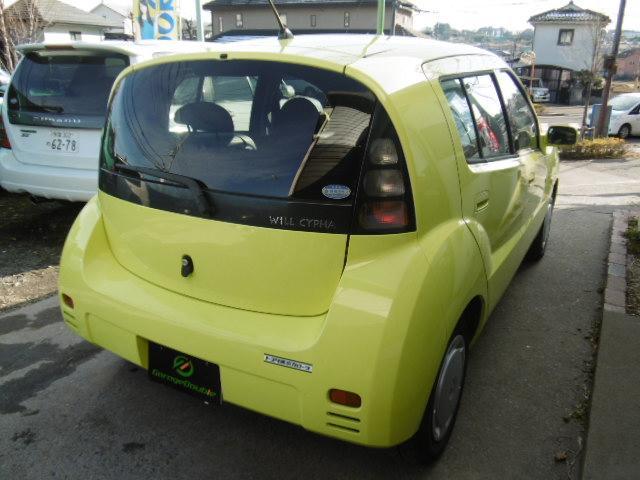トヨタ WiLL サイファ 1.3L ナビ付 CD MD
