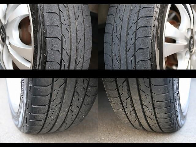 タイヤはマダマダ大丈夫です