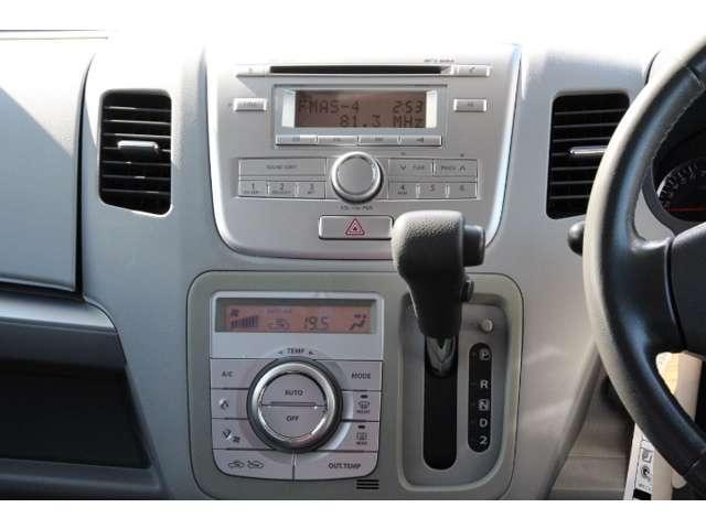 【オーディオ】SUZUKI純正CD付AM/FMチューナー装備!専用の取付金具を用意すれば、取り外して2DIN一体機のナビを装備することもできます。