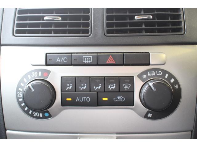 オートエアコンなので、常に車内温度を快適に保ってくれます。