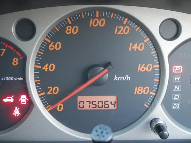 H13年式・7.5万キロ。