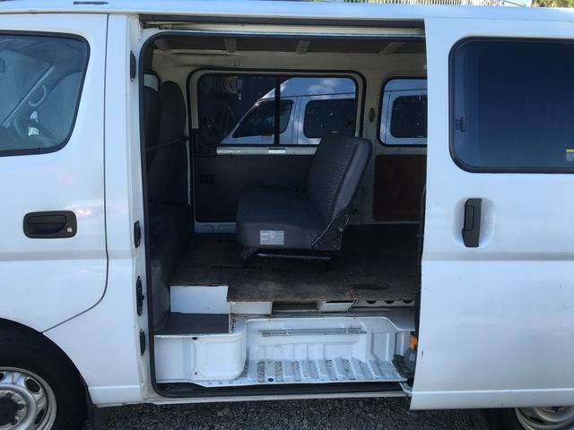 日産 キャラバン ロングDX 両側スライドドア ナビ Bカメラ ETC付き