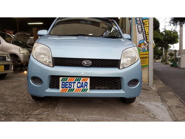 ライトブルーのオシャレでかわいい車です☆