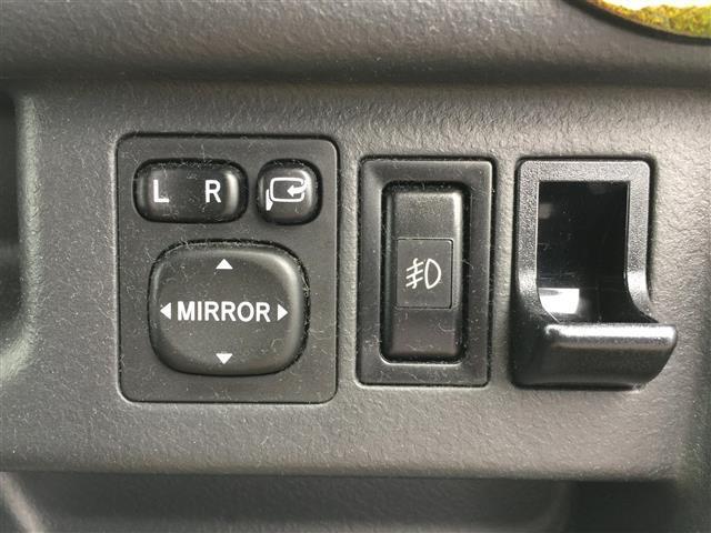 ドアミラーの電動調整&電動格納も付いているのが嬉しいです!!