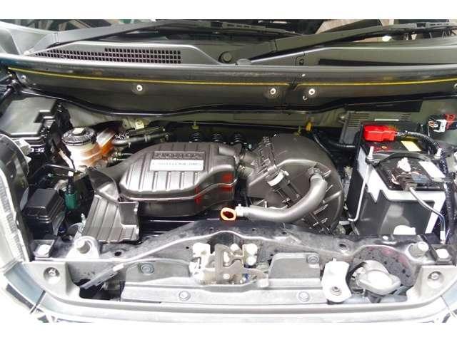 S07A型 DOHC3気筒12バルブエンジン 搭載です