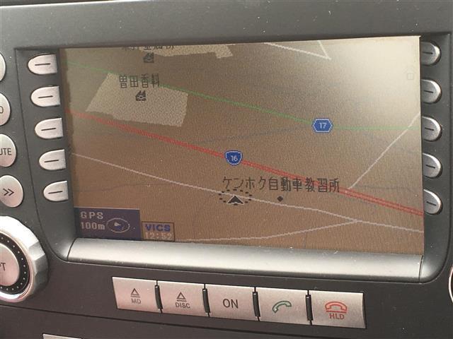 メルセデス・ベンツ M・ベンツ SLK 赤本革シート 純正DVDナビ ワンセグTV 電動OP