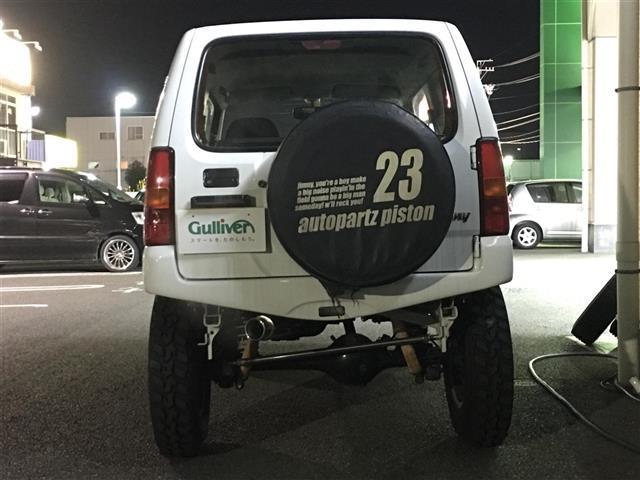 スズキ ジムニー XG 4WD 社外マフラー リフトアップ