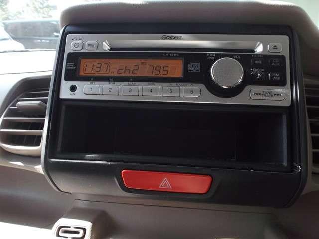 ホンダ N BOX+ G ギャザーズCDチューナー スマートキー