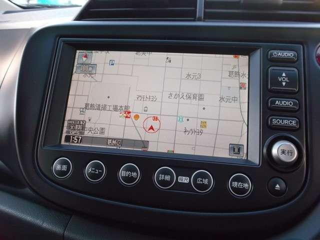 ホンダ フィット RS ハイウェイエディション 純正HDD フルセグ リアカメラ