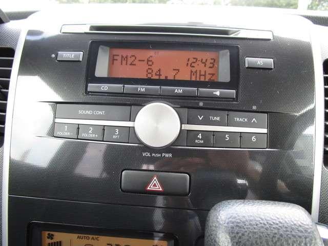 純正のCDオーディオを装備しております☆