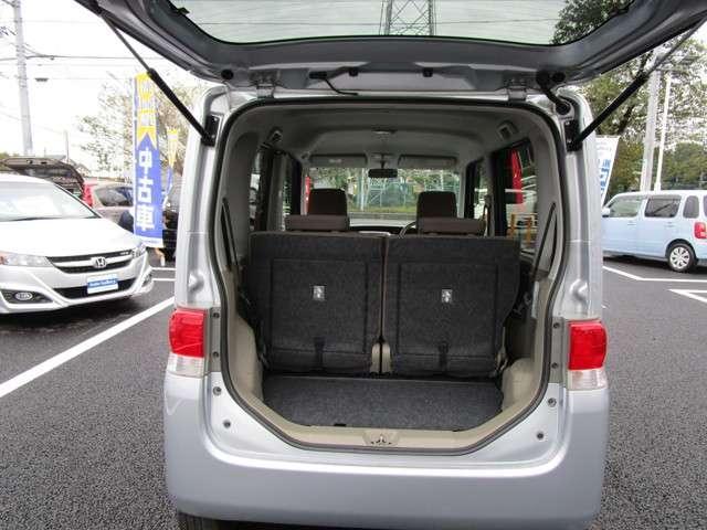 荷物もたくさん積み込めますね☆