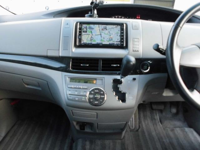 トヨタ エスティマ アエラス 7人乗り HDDナビ フリップダウン バックカメラ