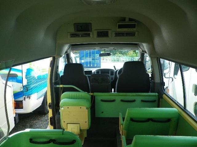 日産 キャラバン SロングGX 園児バス