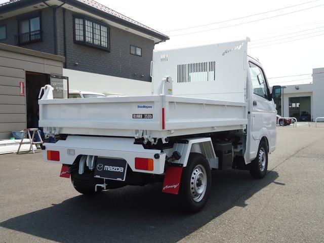 日産 NT100クリッパートラック 新明和製 電動油圧式 強化ダンプ 4WD MT