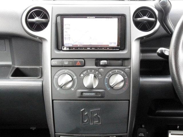 トヨタ bB S Wバージョン メモリーナビ地デジTV