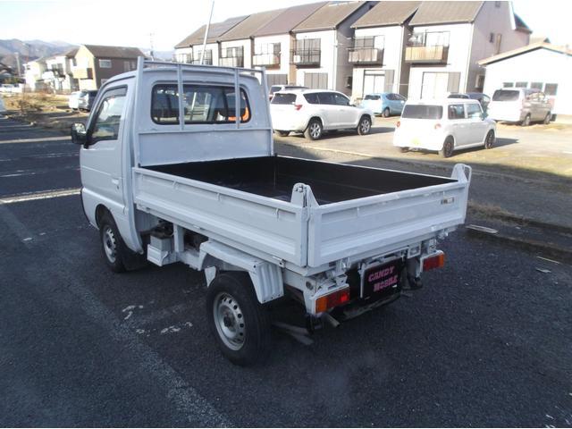 スズキ キャリイトラック ダンプ アクスルロック 4WD シート張替 外装塗装済み
