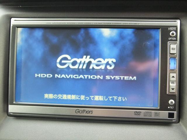 ホンダ クロスロード 18L 純正ギャザーズHDDナビ ETC キーレスエントリー