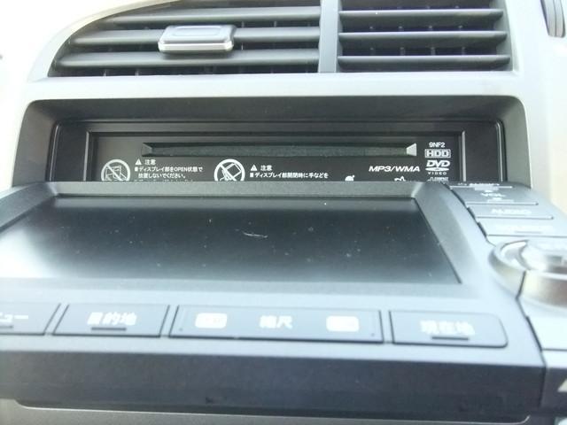 ホンダ ストリーム X HDDナビパッケージ 純正インターナビワンセグ HID
