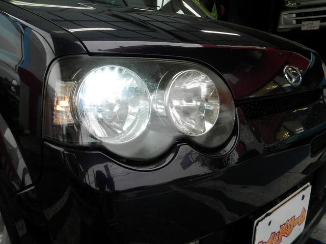 ヘッドライトはキセノンライト!消費電力も少なく長寿命でしかも明るい!良い事ずくめ!夜間も安全に走行可能です!