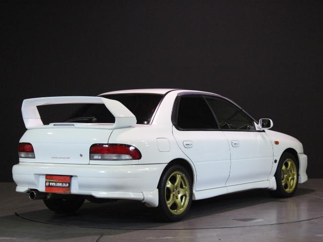 スバル インプレッサ WRX STiバージョンVI 1オーナー 純正エアロ