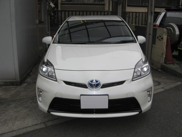 トヨタ プリウス S 1オーナー 禁煙車 純正ナビTV
