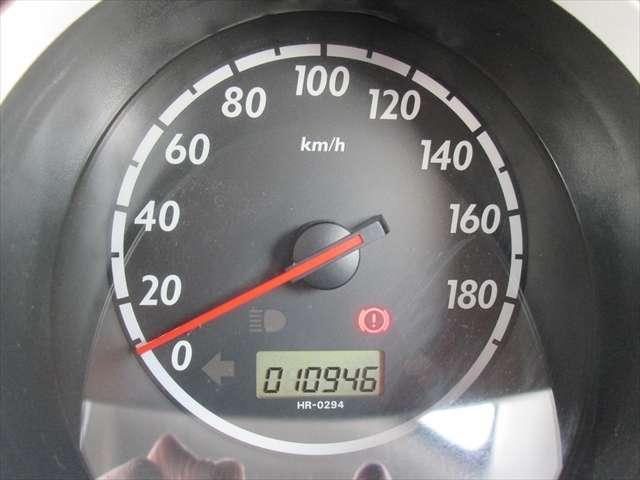 実走行で1万キロ台です。今年の3月まで乗っていました