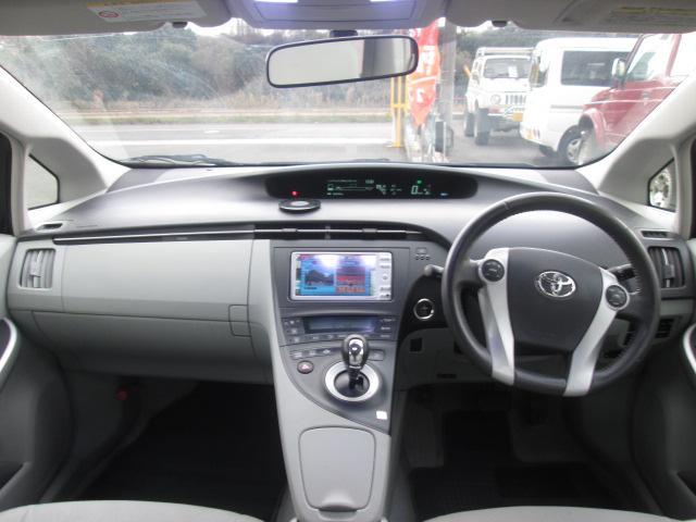トヨタ プリウス S LEDエディション ワンセグ純正ナビ ETC