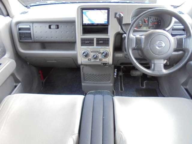キューブライダーのベンチシートは長距離運転をしても疲れにくい仕様になっております。みんなに愛されている車はシート1つとっても違いがあります。