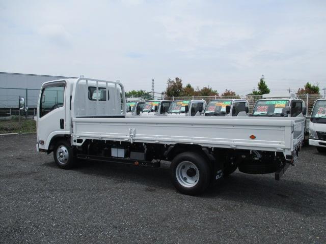 いすゞ エルフトラック 標準ロング 3.0t フルフラットロー