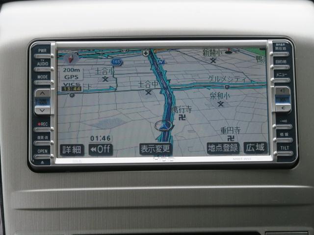 トヨタ アルファードG AS リミテッド HDDナビ 両側パワースライド 1オーナー