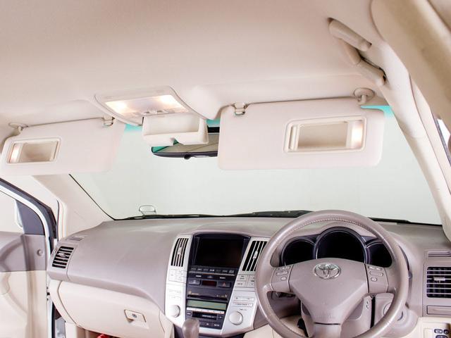 トヨタ ハリアー 350G-L 後期型 別注ベージュレザー HDDマルチ