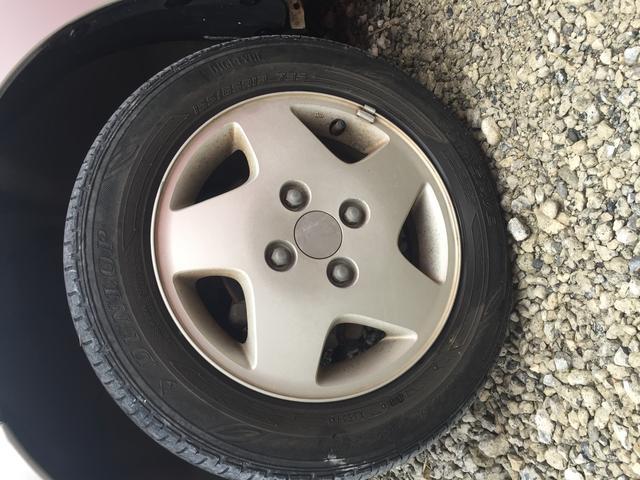 タイヤまだまだ使えます!!