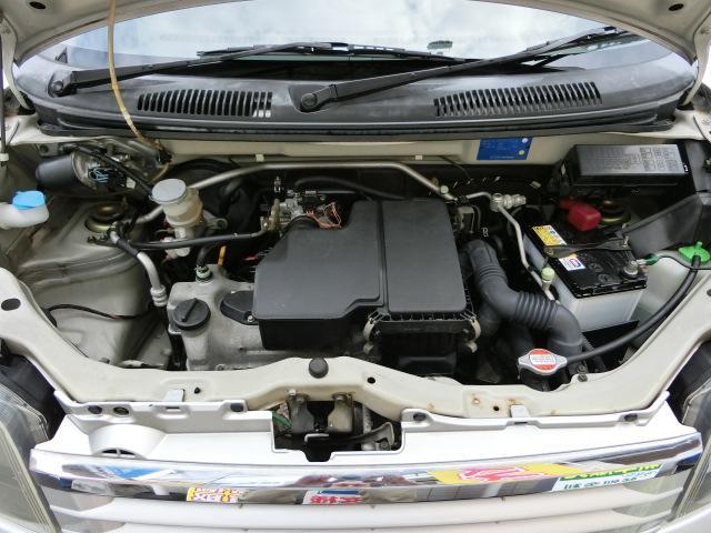 タイミングチェーン式のK6Aエンジン快調です!