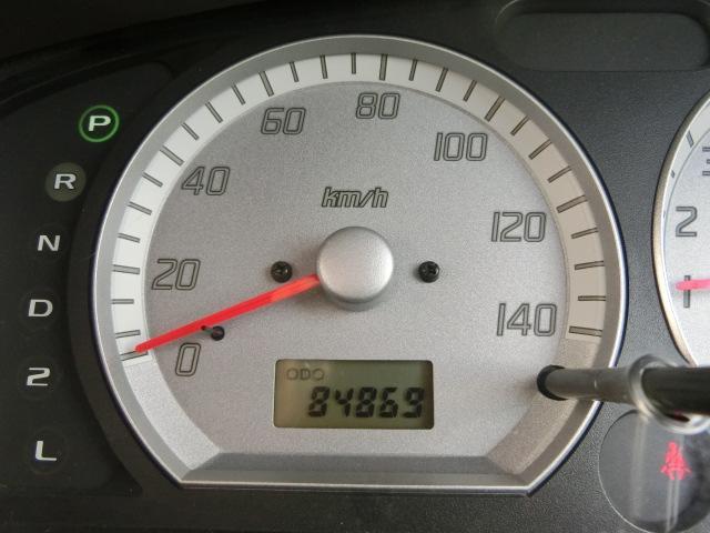 走行84869キロです
