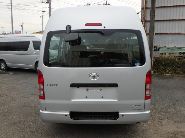 トヨタ ハイエースバン SロングワイドDX SDナビTV Bカメラ SGLリアシート