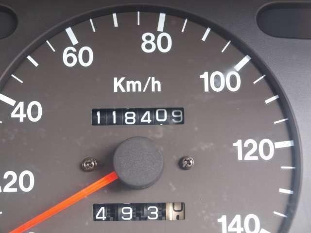 走行、118,409キロですが、機関良好です。