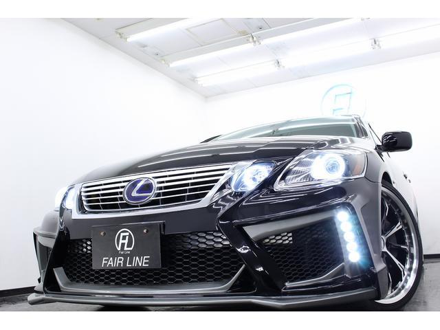 レクサス GS ハイブリッド 新品デイライト付スピンドル風フルエアロ