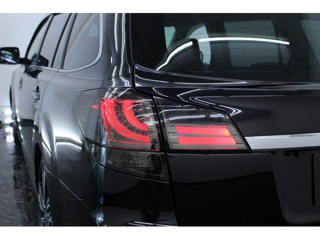 スバル レガシィツーリングワゴン 2.5i HDDナビ 新品カーボンFリップ ファイバーテール