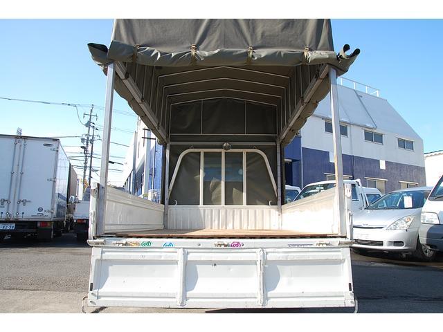 トヨタ タウンエーストラック Sシングルジャストロー 三方開 幌車 積載0.75t